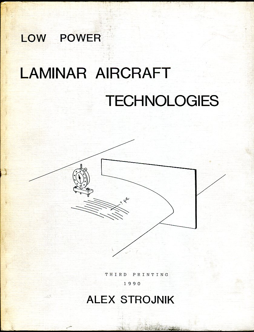 Image for Low Power Laminar Aircraft Technologies