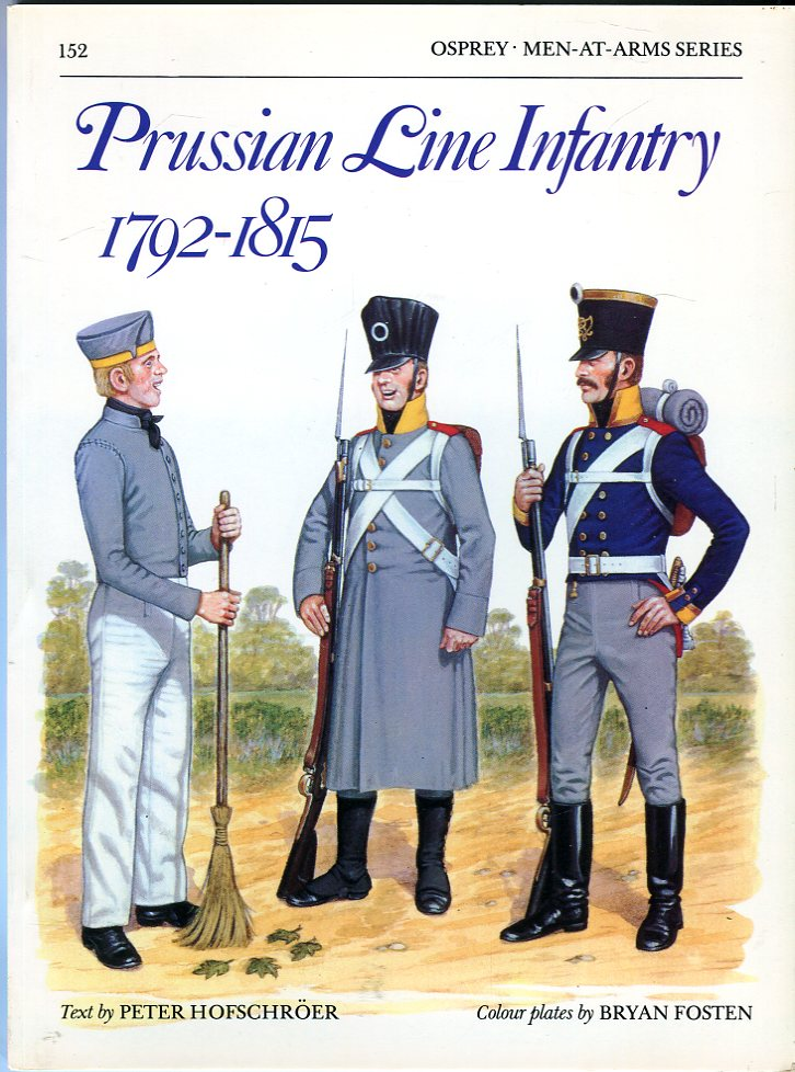 Image for Prussian Line Infantry 1792- 1815 (Osprey Men at Arms Series 152)
