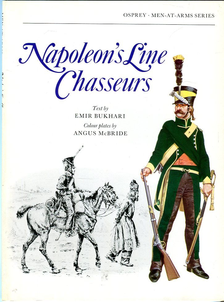 Image for Napoleon's Line Chasseurs (Osprey Men at Arms Series 68)