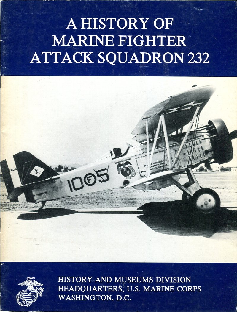 Image for A History of Marine Fighter Attack Squadron 232