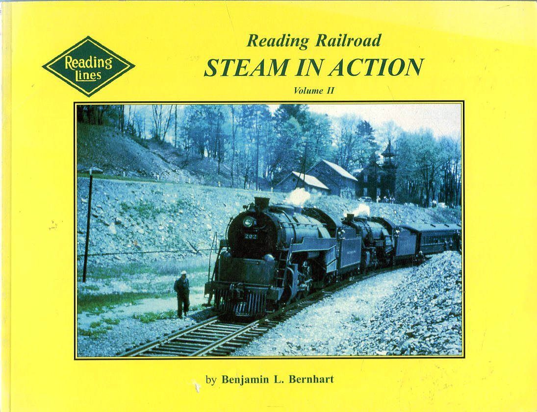 Image for Reading Railroad Steam in Action, Volume II