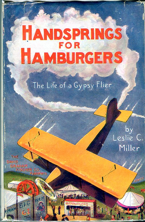 Image for Handsprings for Hamburgers: The Life of a Gypsy Flier