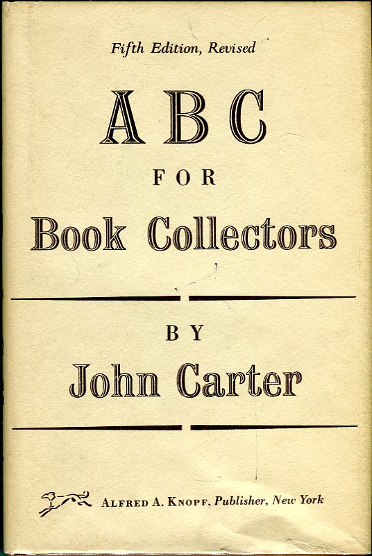 Image for A B C for Book Collectors