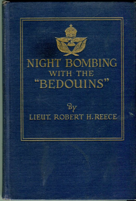 Image for Night Bombing With the Bedouins: With a Handley Page Squadron at the Front