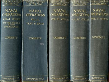 Image for Naval Operations (9 Volumes, Complete, 5 text volumes, 4 map volumes): History of the Great War Based on Official Documents