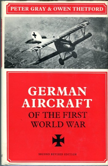 Image for German Aircraft of the First World War (Putnam Aviation Series)