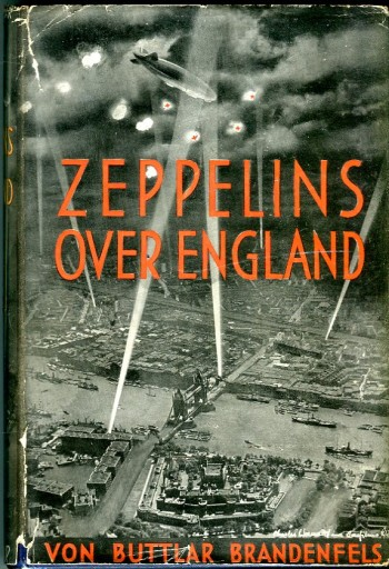 Image for Zeppelins Over England