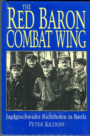 Image for The Red Baron Combat Wing: Jagdgeschwader Richthofen in Battle