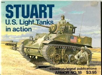 Image for Stuart U.S. Light Tanks in Action (Armor No. 18) (Squadron/Signal 2018)