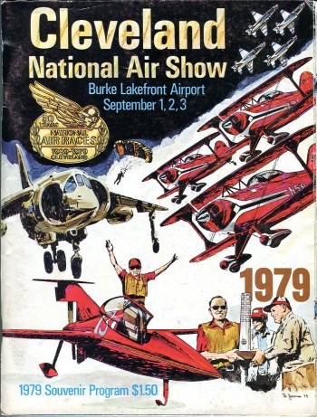 Image for Cleveland National Air Show, Burke Lakefront Airport, September 1, 2, 3, 1979 Souvenir Program
