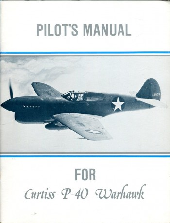 Image for Pilot's Manual for Curtiss P-40 Warhawk