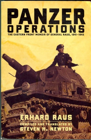 Image for Panzer Operations: The Eastern Front Memoir of General Raus, 1941-1945