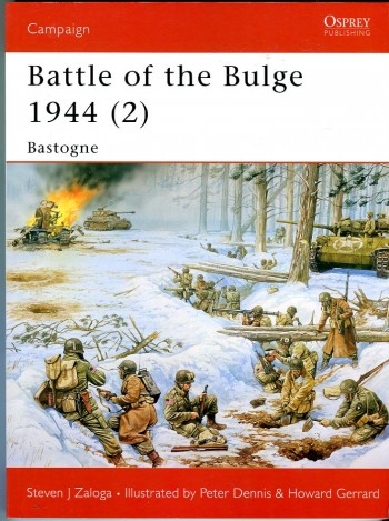 Image for Battle of the Bulge 1944 (2) (Osprey Campaign Series No. 145)