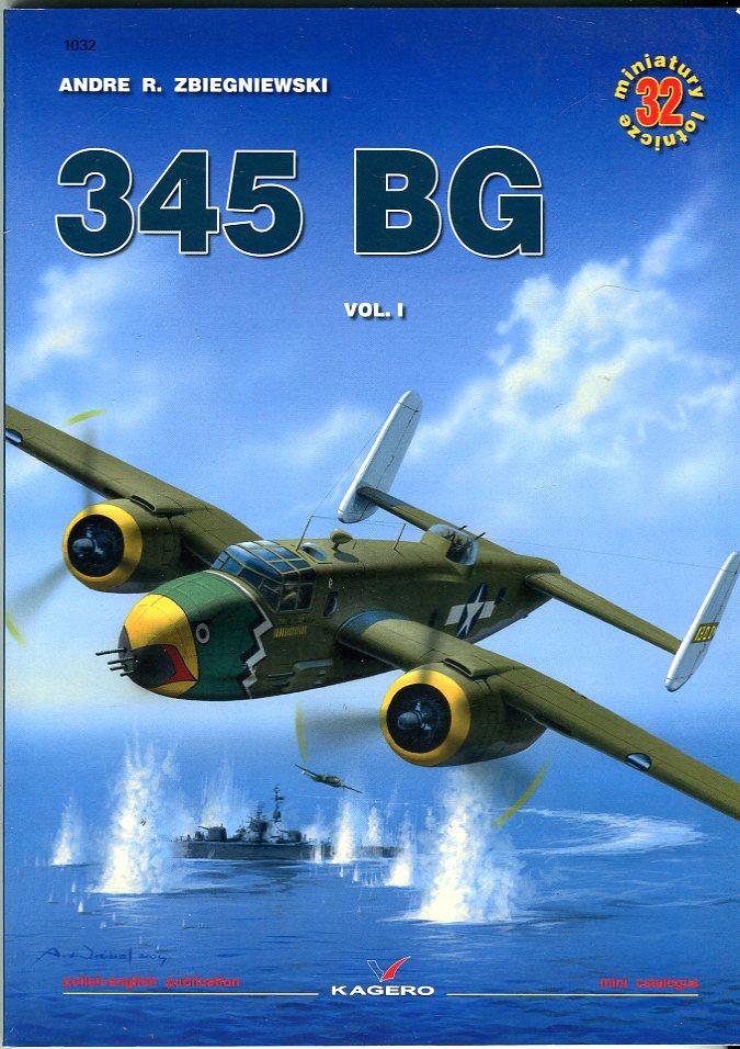 345 BG (Bomber Group), Volume 1 (Miniature No. 32)