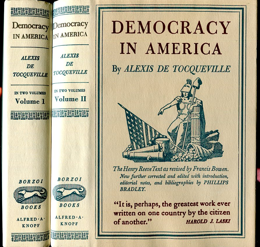 Image for Democracy in America (2 Volumes) (The American Past Series)