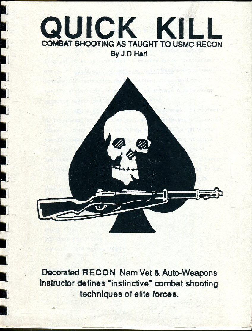 Image for Quick Kill Manual: Combat Shooting as Taught to USMC Recon