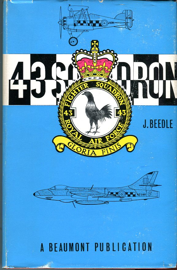 Image for 43 Squadron, Royal Flying Corps, Royal Air Force: The History of the Fighting Cocks, 1916-1966