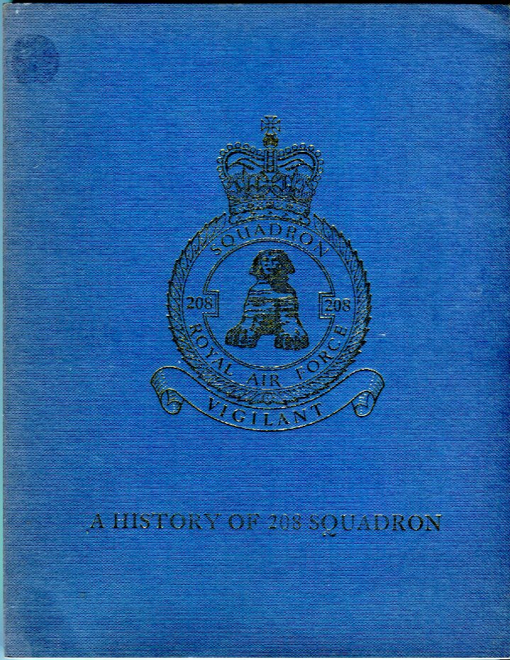 Image for A History of 208 Squadron