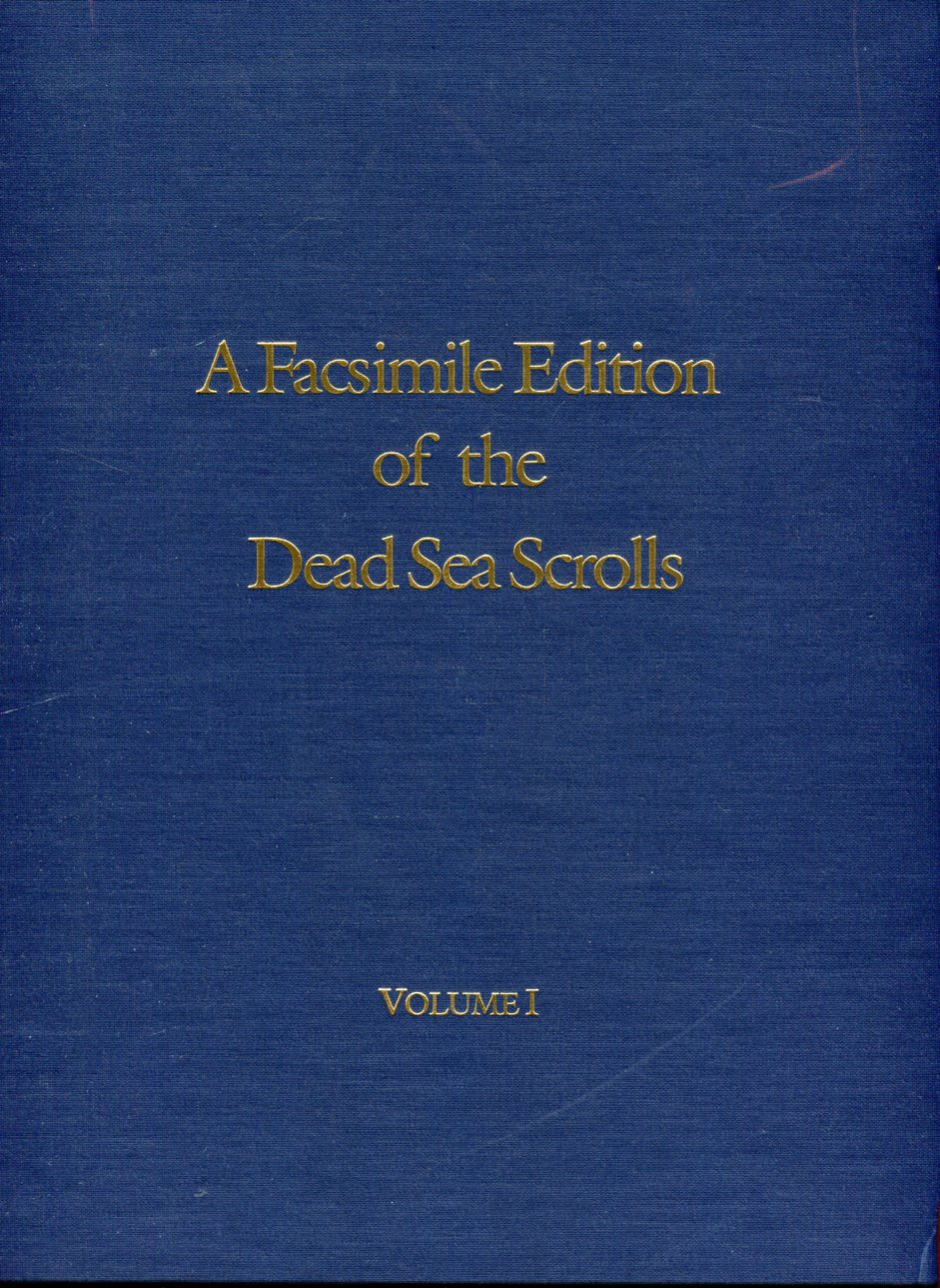 Image for A Facsimile Edition of the Dead Sea Scrolls (2 Volumes)
