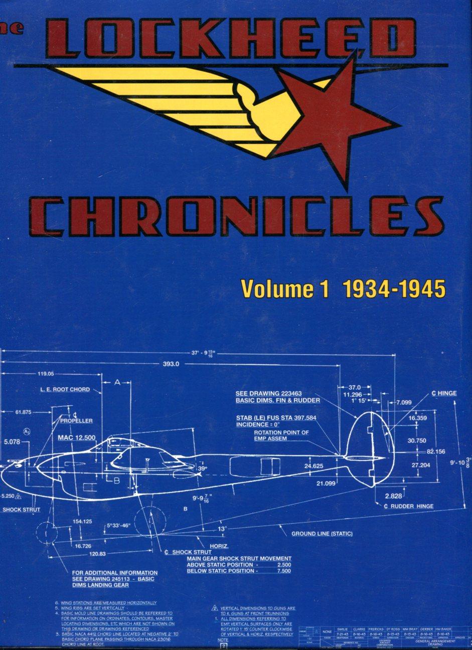 The Lockheed Chronicles, Volume 1 1934-1945