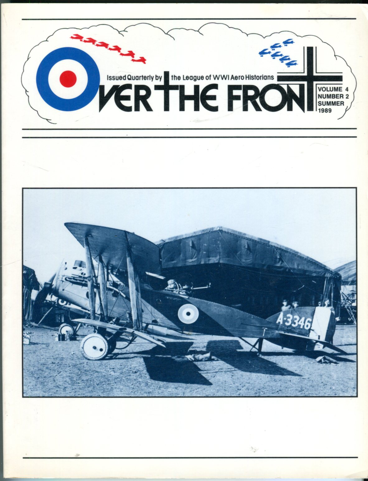 Image for Over the Front, Volume 4, No. 2, Summer 1989