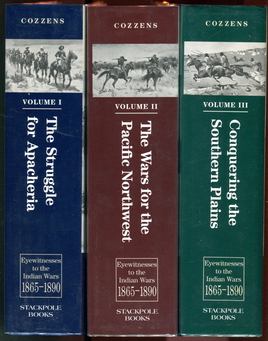 Image for Eyewitnesses to the Indian Wars 1865-1890 (3 volume set) v.1 The Struggle for Apacheria, v.2 The Wars for the Pacific Northwest, v.3 Conquering the Southern Plains