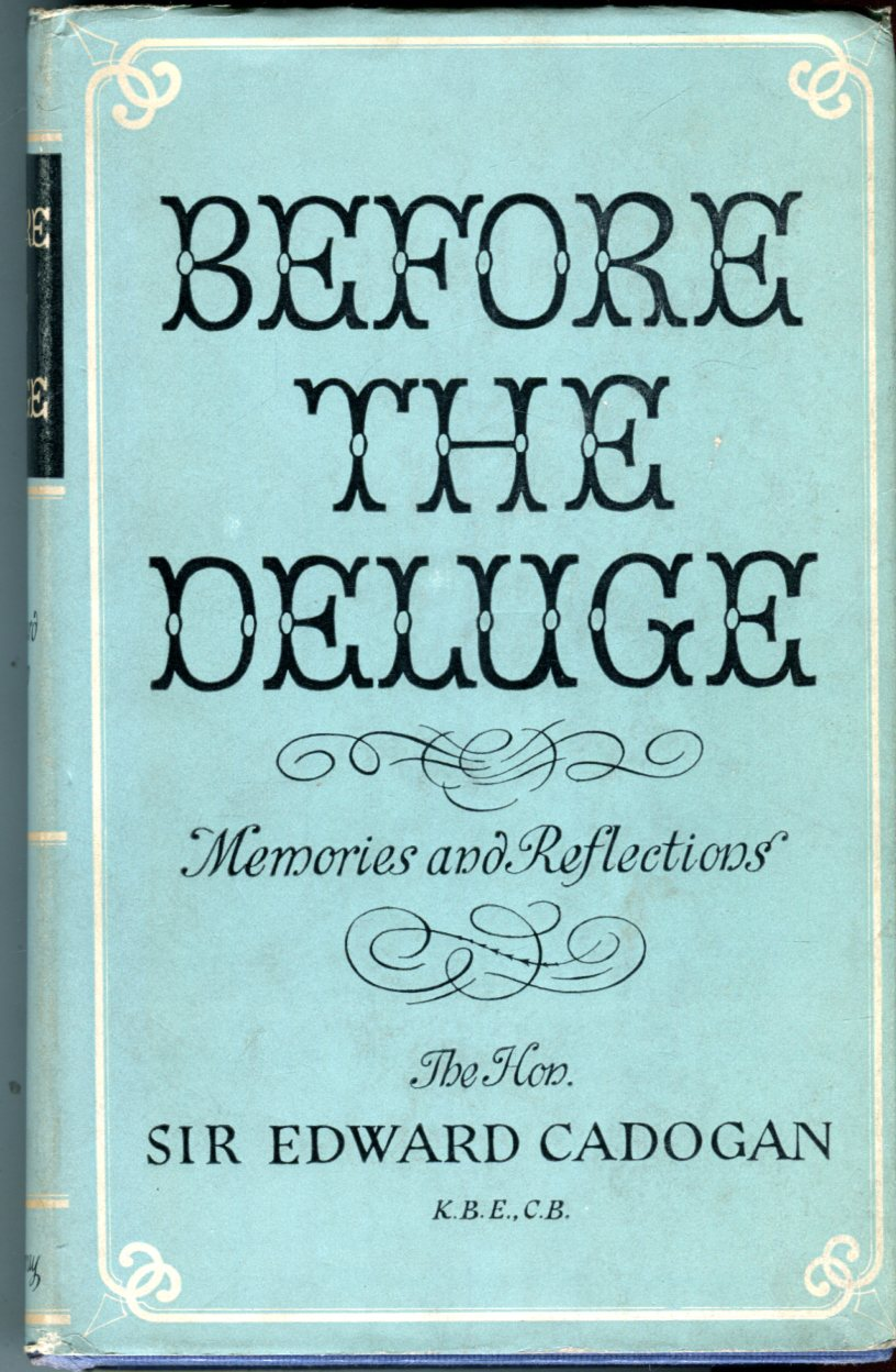 Image for Before the Deluge: Memories and Reflections 1880-1914