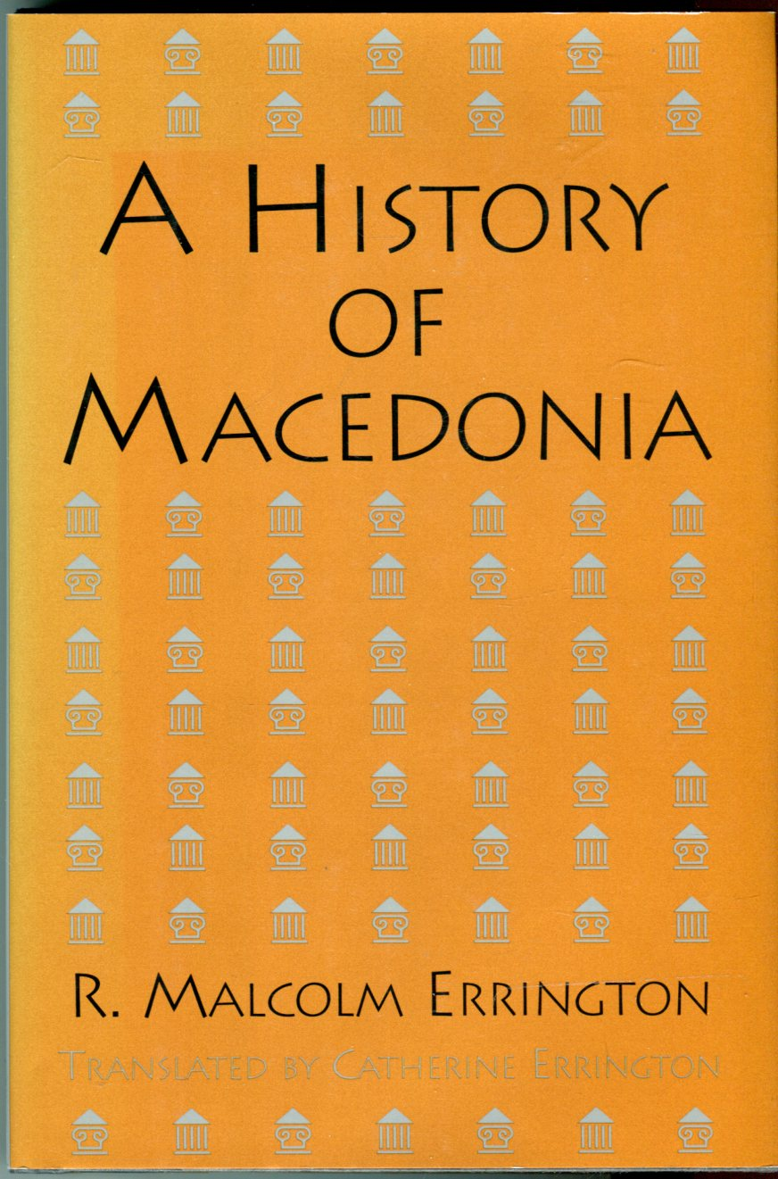 Image for A History of Macedonia
