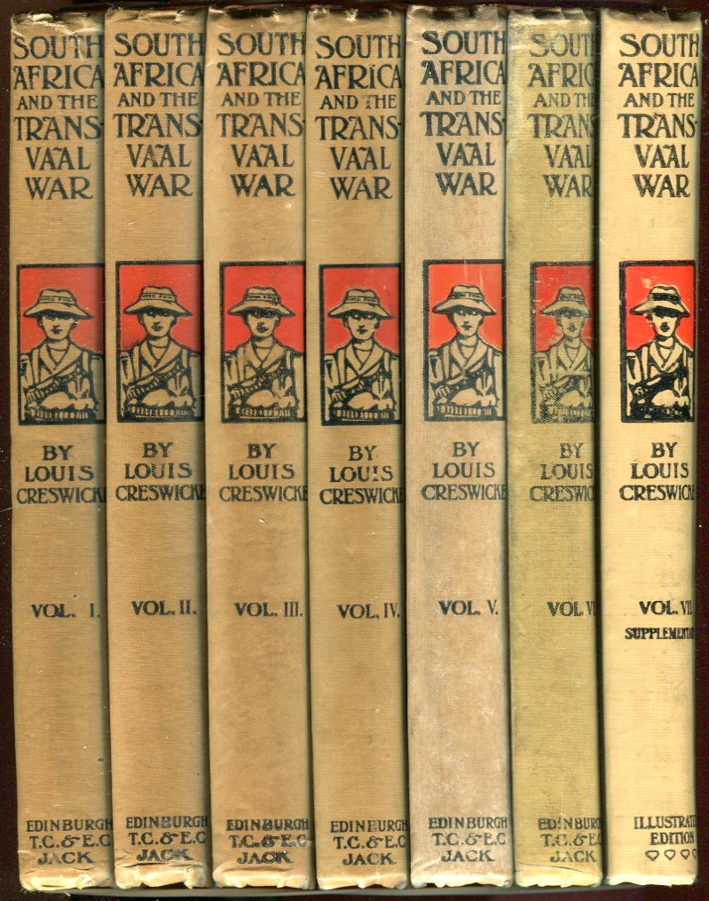 Image for South Africa and the Transvaal War (7 Volumes)