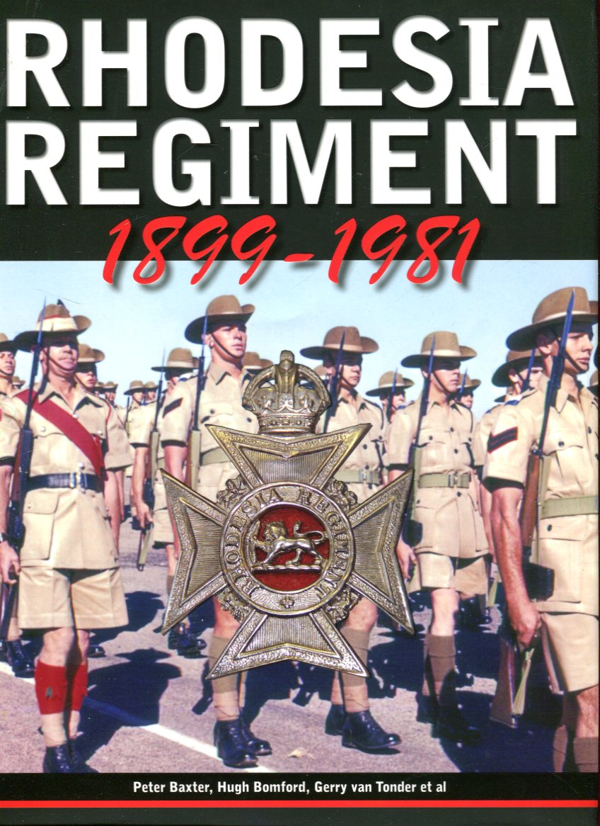 Image for Rhodesia Regiment 1899-1981