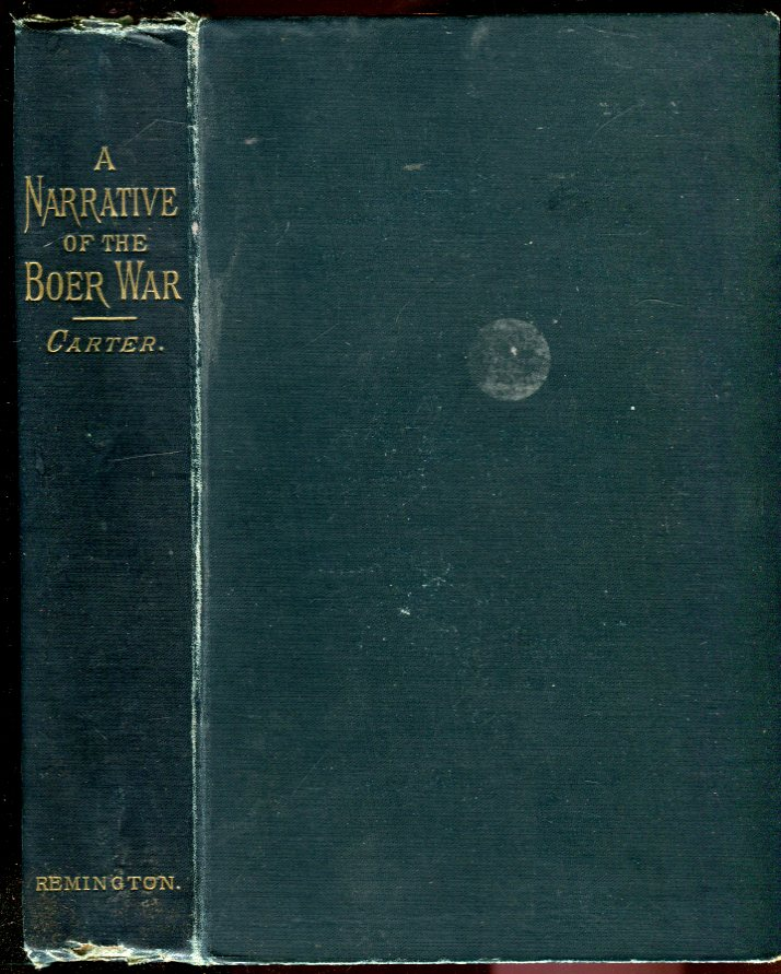 Image for A Narrative of the Boer War: Its Causes and Results