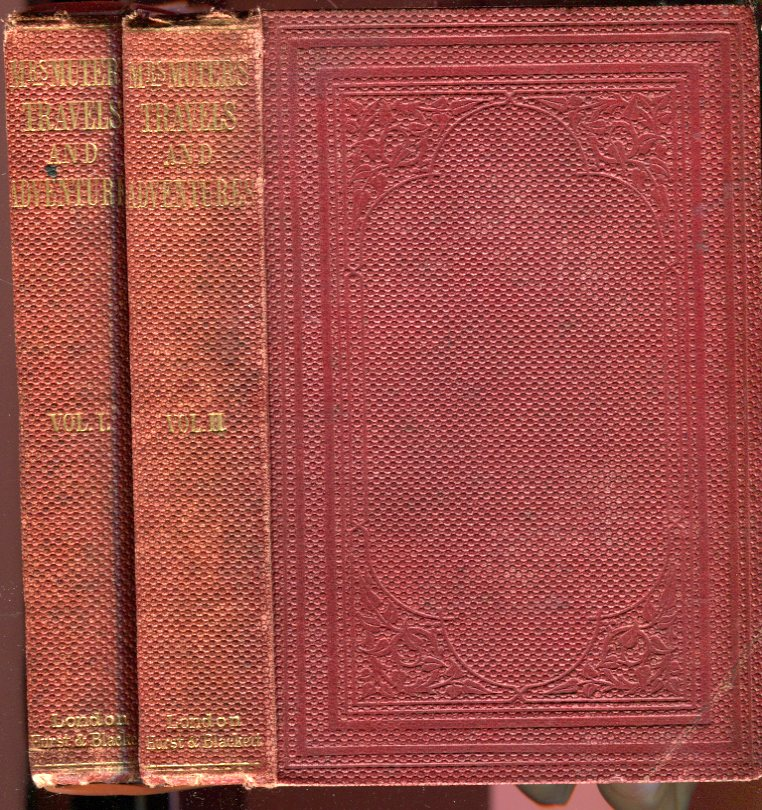 Image for Travels and Adventures of an Officer's Wife in India, China, and New Zealand (2 Volumes, complete)