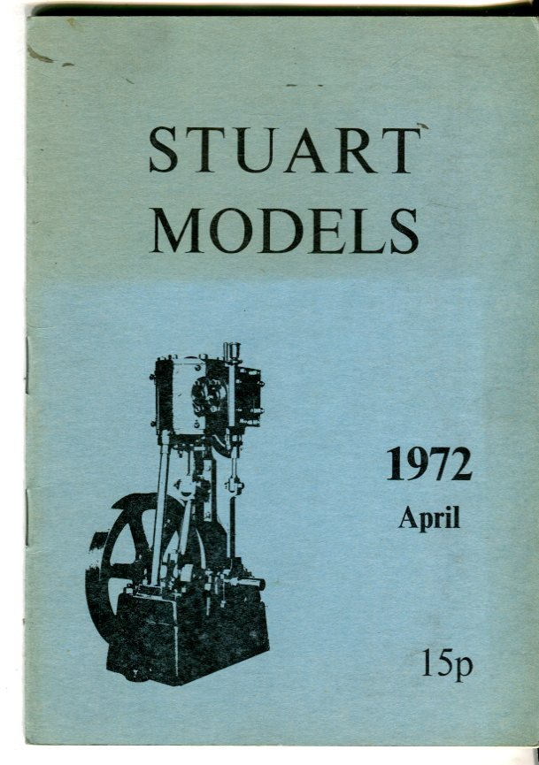 Image for Stuart Models, 1972, April Catalog