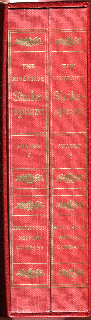 Image for The Riverside Shakespeare, Volumes 1 and 2