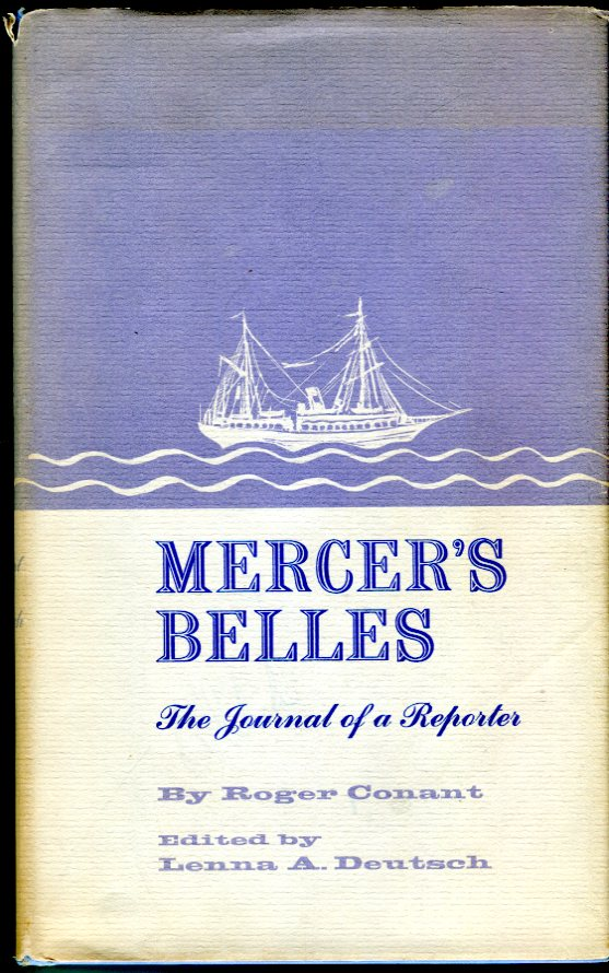 Image for Mercer's Belles: The Journal of a Reporter