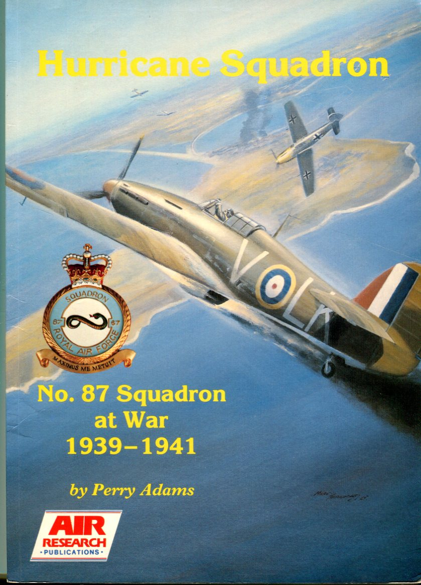 Image for Hurricane Squadron: No. 87 Squadron at War 1939-1941