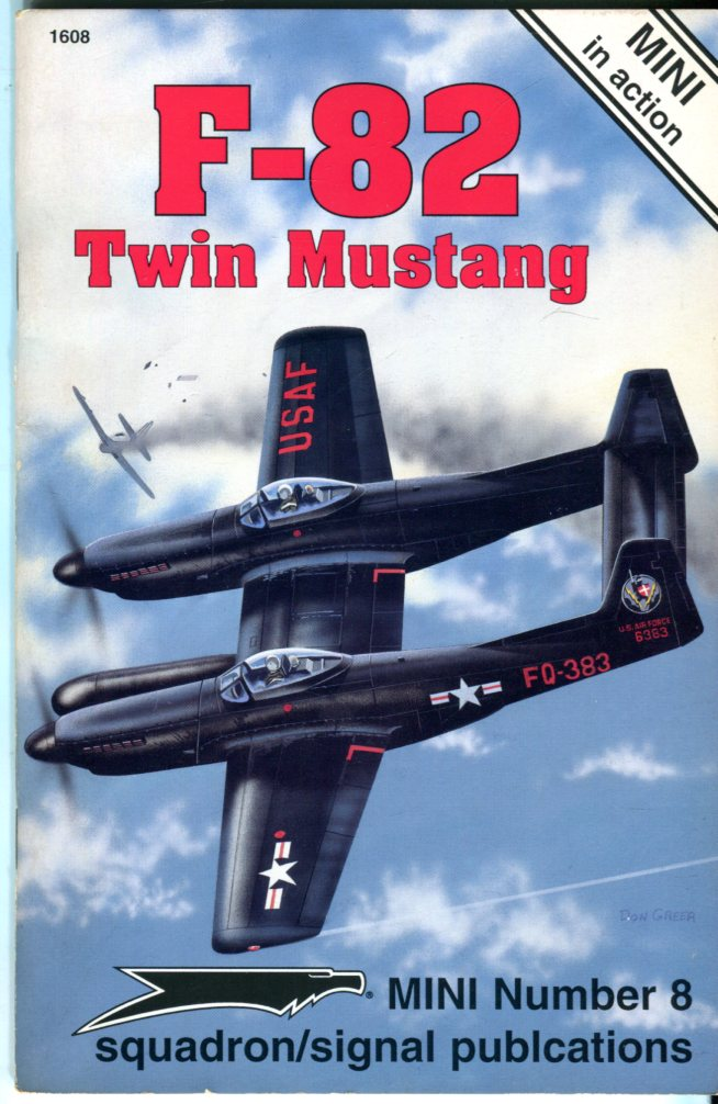 Image for F-82 Twin Mustang: Mini in Action (Mini No. 8)